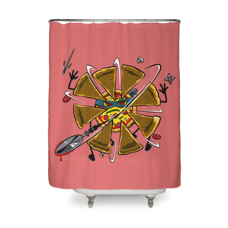 Have a Slice Home Shower Curtain by Made With Awesome