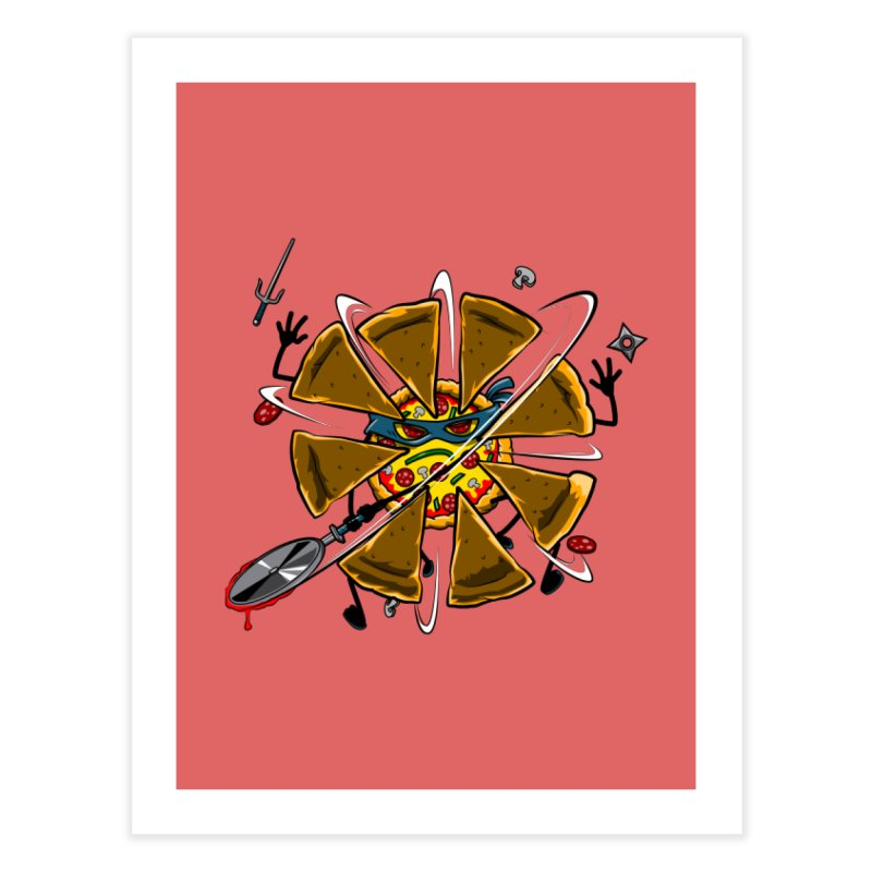 Have a Slice Home Fine Art Print by Made With Awesome