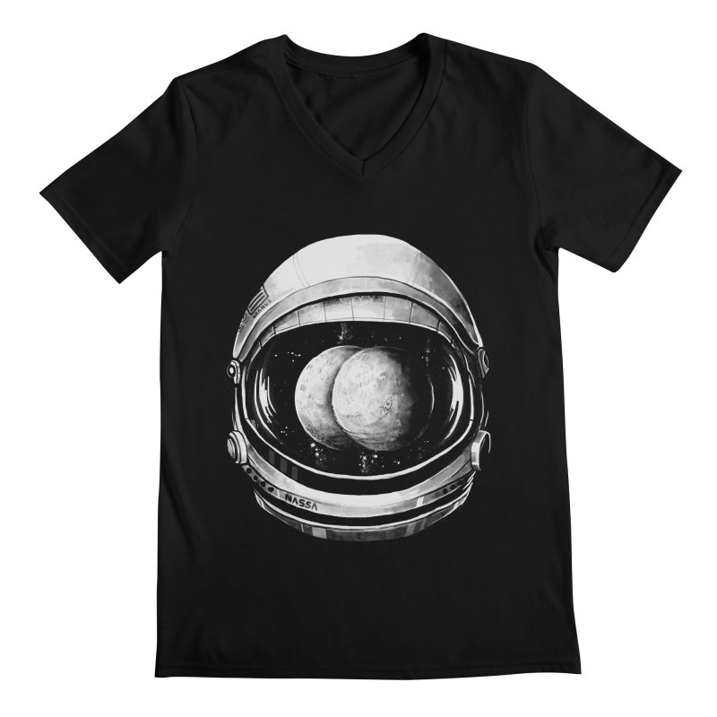 Asstronaut Men's V-Neck by Made With Awesome