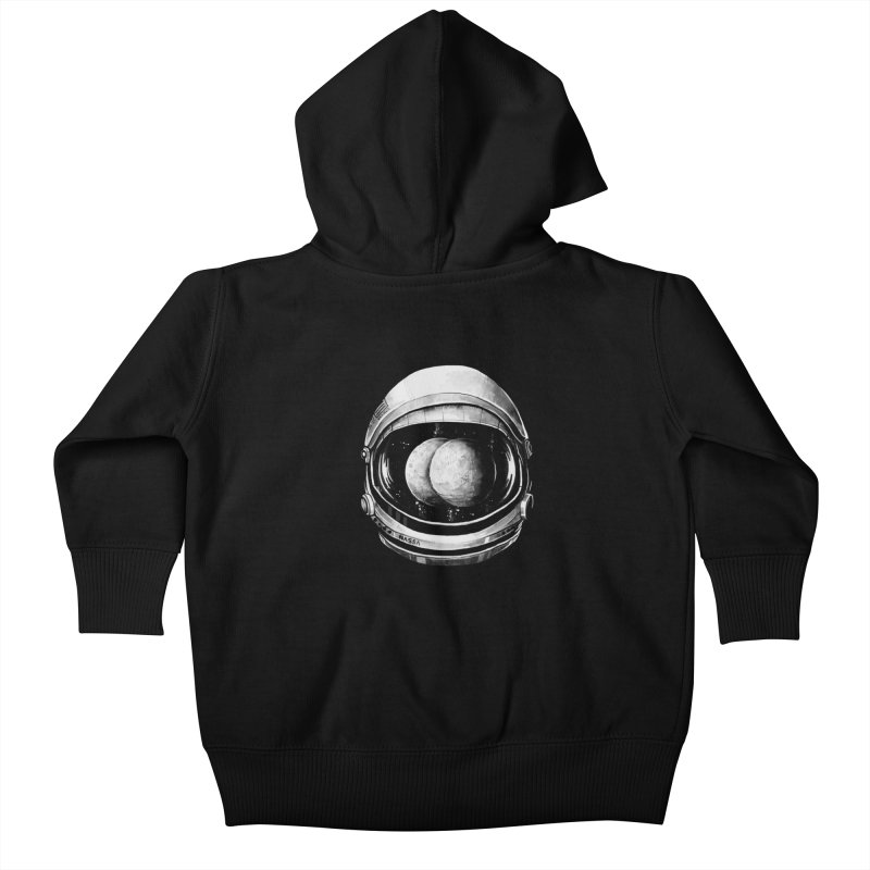 Asstronaut Kids Baby Zip-Up Hoody by Made With Awesome