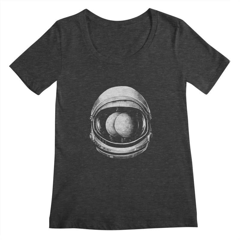Asstronaut Women's Scoopneck by Made With Awesome