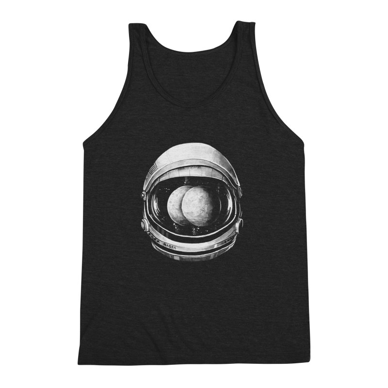 Asstronaut Men's Triblend Tank by Made With Awesome