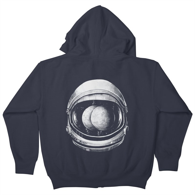 Asstronaut Kids Zip-Up Hoody by Made With Awesome