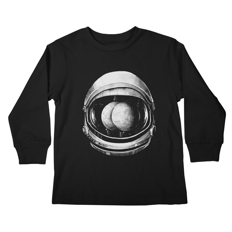 Asstronaut Kids Longsleeve T-Shirt by Made With Awesome