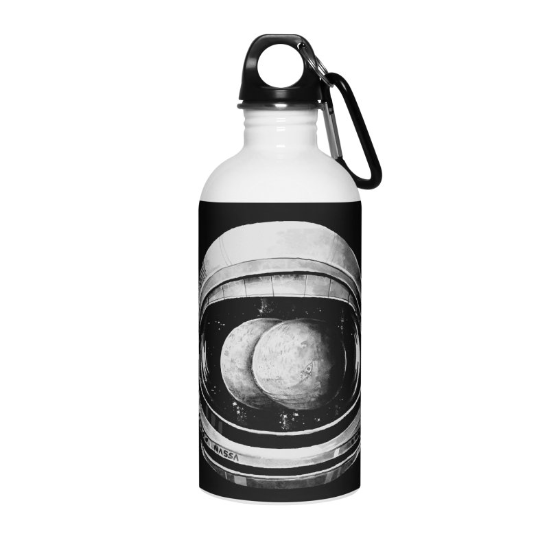 Asstronaut Accessories Water Bottle by Made With Awesome