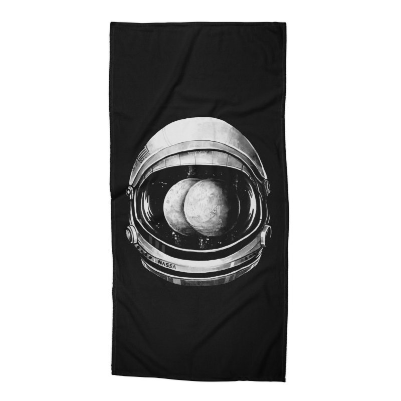 Asstronaut Accessories Beach Towel by Made With Awesome