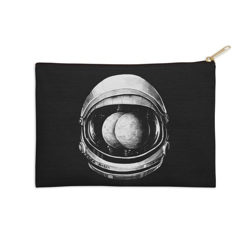 Asstronaut Accessories Zip Pouch by Made With Awesome