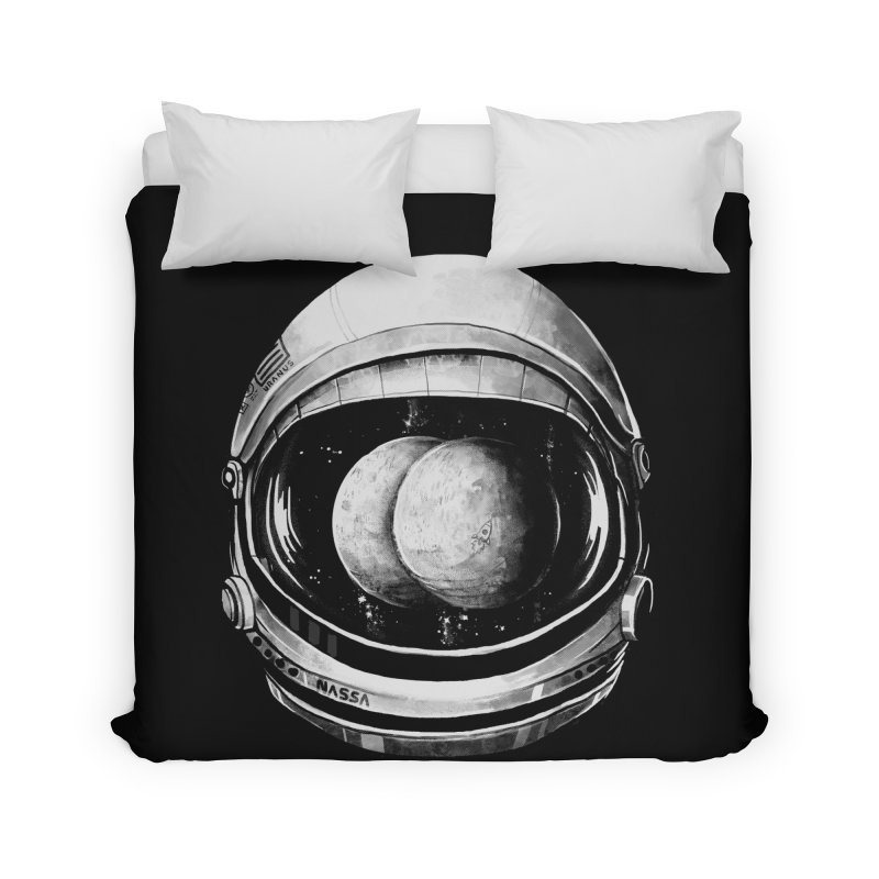 Asstronaut Home Duvet by Made With Awesome