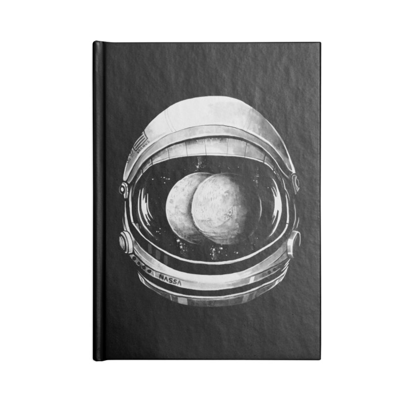 Asstronaut Accessories Notebook by Made With Awesome
