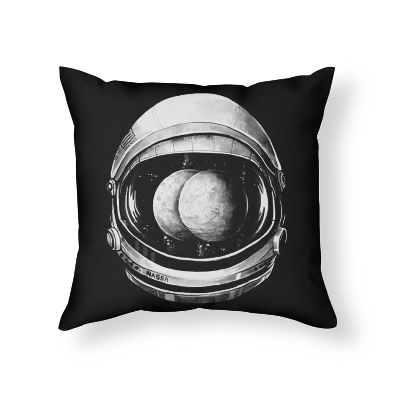 Asstronaut Home Throw Pillow by Made With Awesome