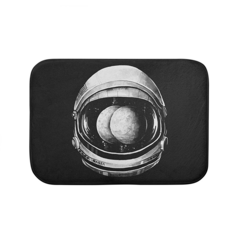 Asstronaut Home Bath Mat by Made With Awesome