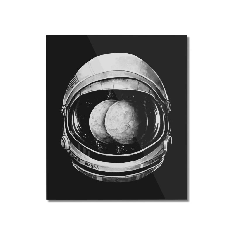 Asstronaut Home Mounted Acrylic Print by Made With Awesome