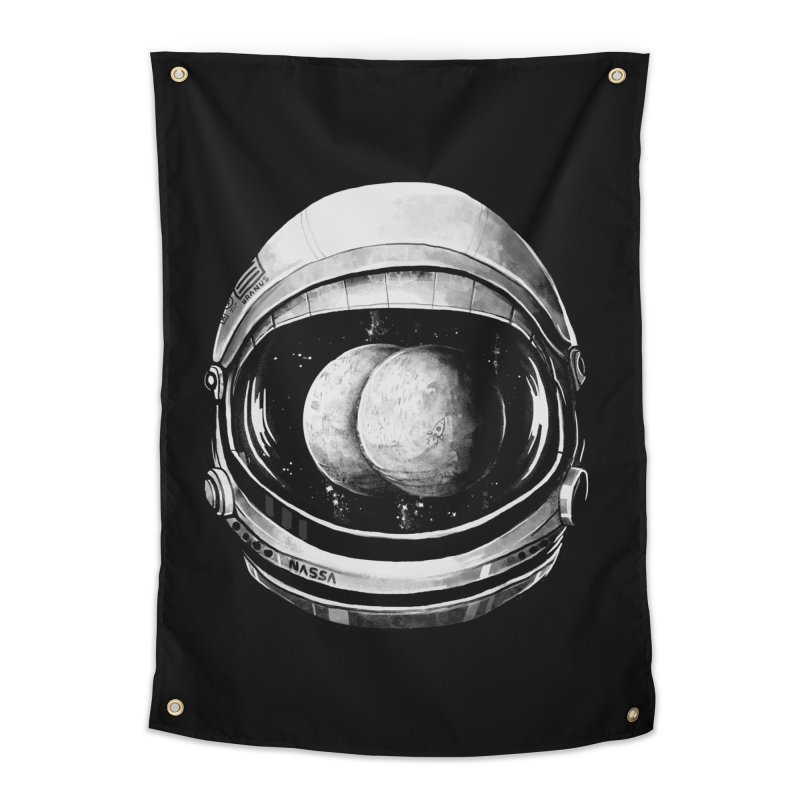 Asstronaut in Tapestry by Made With Awesome