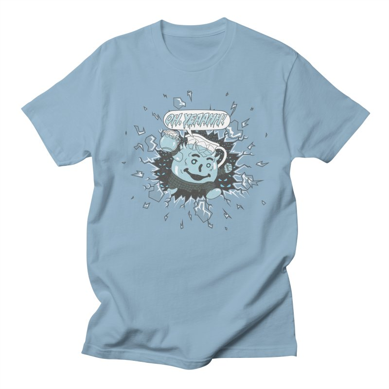 WINTER IS HEEERE! Men's T-Shirt by Made With Awesome