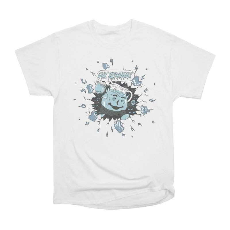 WINTER IS HEEERE! Women's Classic Unisex T-Shirt by Made With Awesome