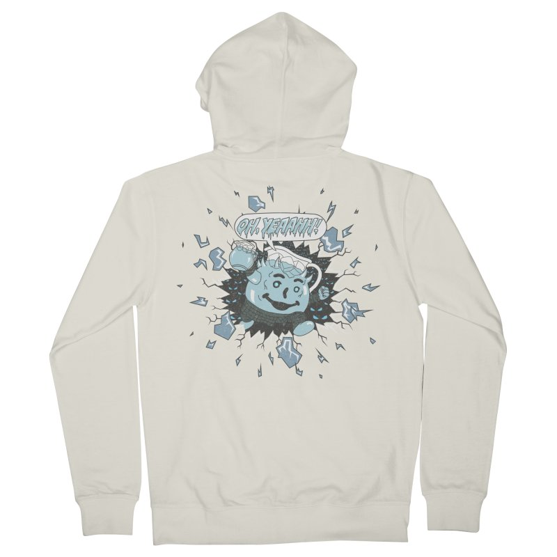 WINTER IS HEEERE! Men's Zip-Up Hoody by Made With Awesome