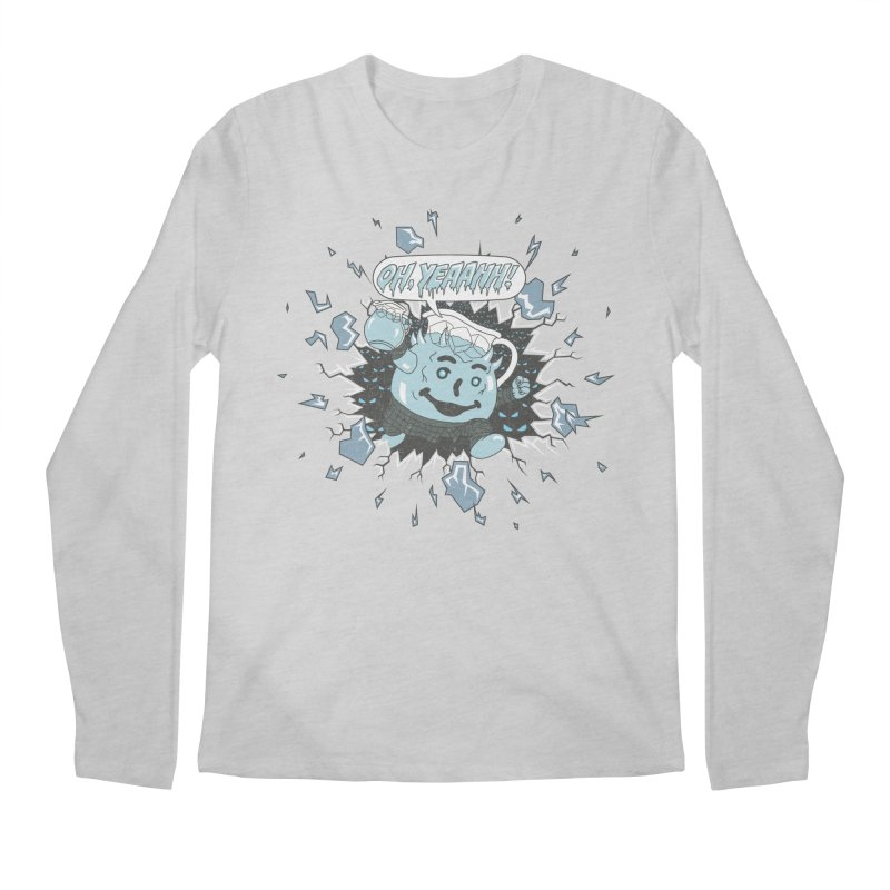 WINTER IS HEEERE! Men's Longsleeve T-Shirt by Made With Awesome