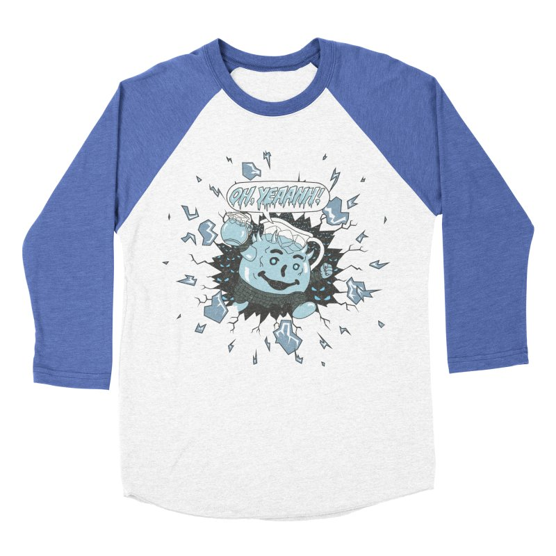 WINTER IS HEEERE! Men's Baseball Triblend T-Shirt by Made With Awesome