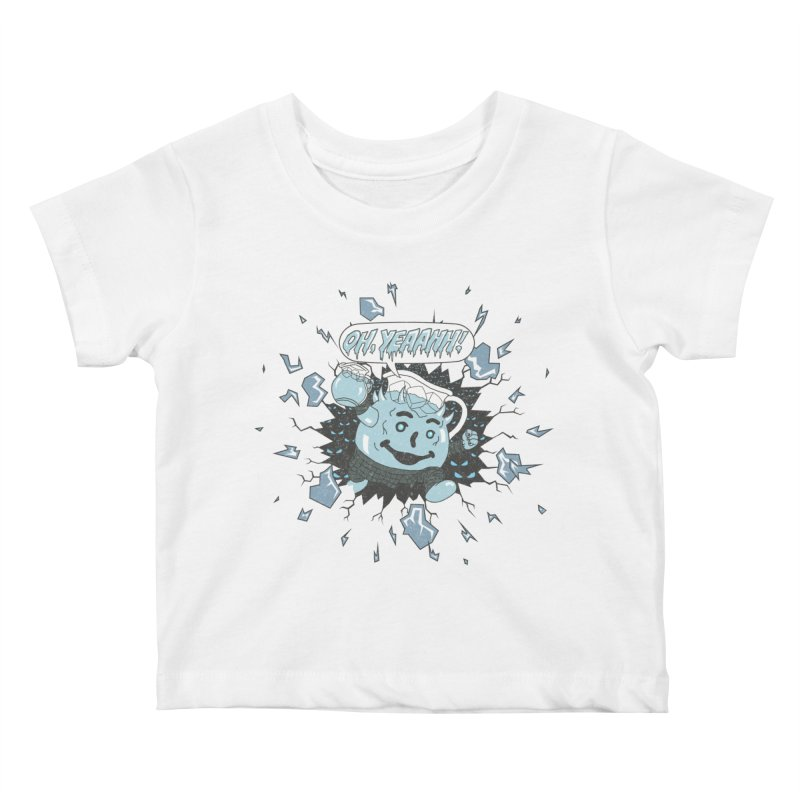 WINTER IS HEEERE! Kids Baby T-Shirt by Made With Awesome