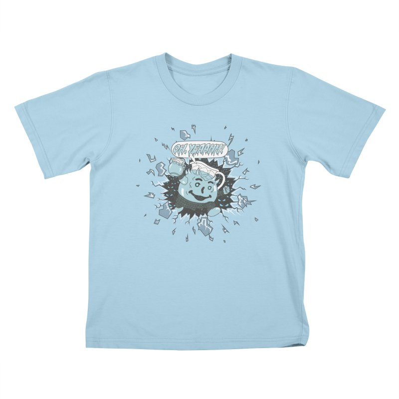 WINTER IS HEEERE! Kids T-Shirt by Made With Awesome