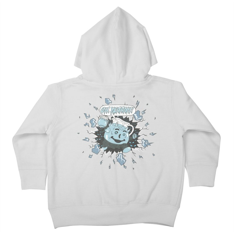 WINTER IS HEEERE! Kids Toddler Zip-Up Hoody by Made With Awesome