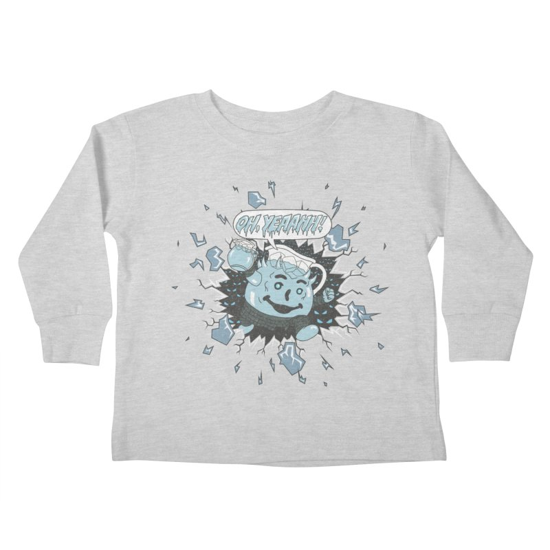 WINTER IS HEEERE! Kids Toddler Longsleeve T-Shirt by Made With Awesome