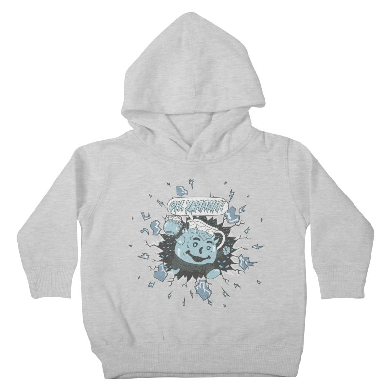 WINTER IS HEEERE! Kids Toddler Pullover Hoody by Made With Awesome