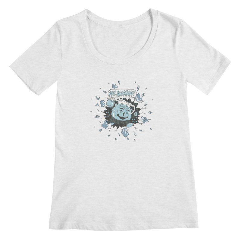 WINTER IS HEEERE! Women's Scoopneck by Made With Awesome