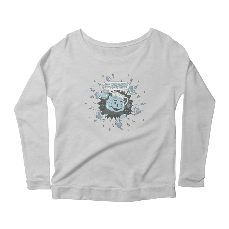 WINTER IS HEEERE! Women's Longsleeve Scoopneck  by Made With Awesome