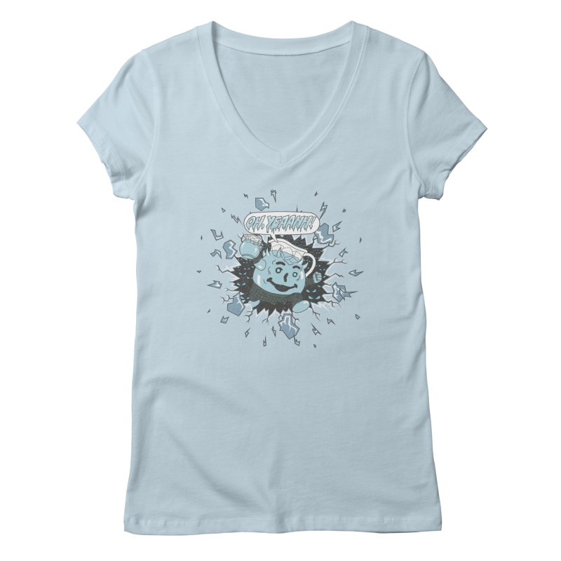 WINTER IS HEEERE! Women's V-Neck by Made With Awesome