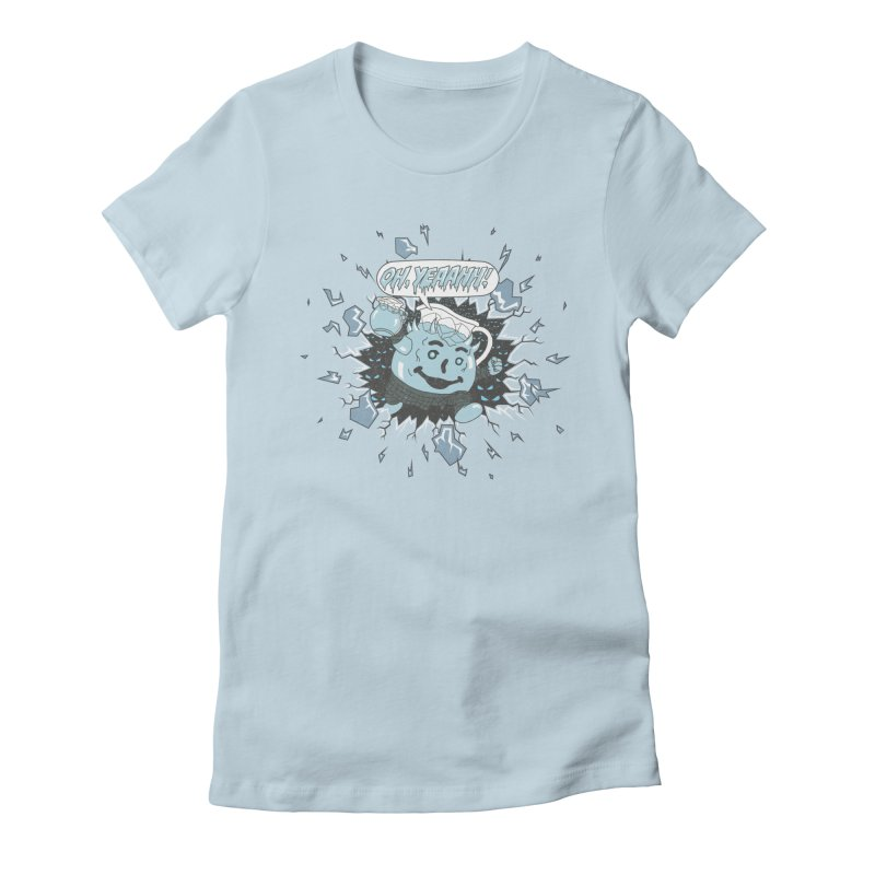 WINTER IS HEEERE! Women's Fitted T-Shirt by Made With Awesome