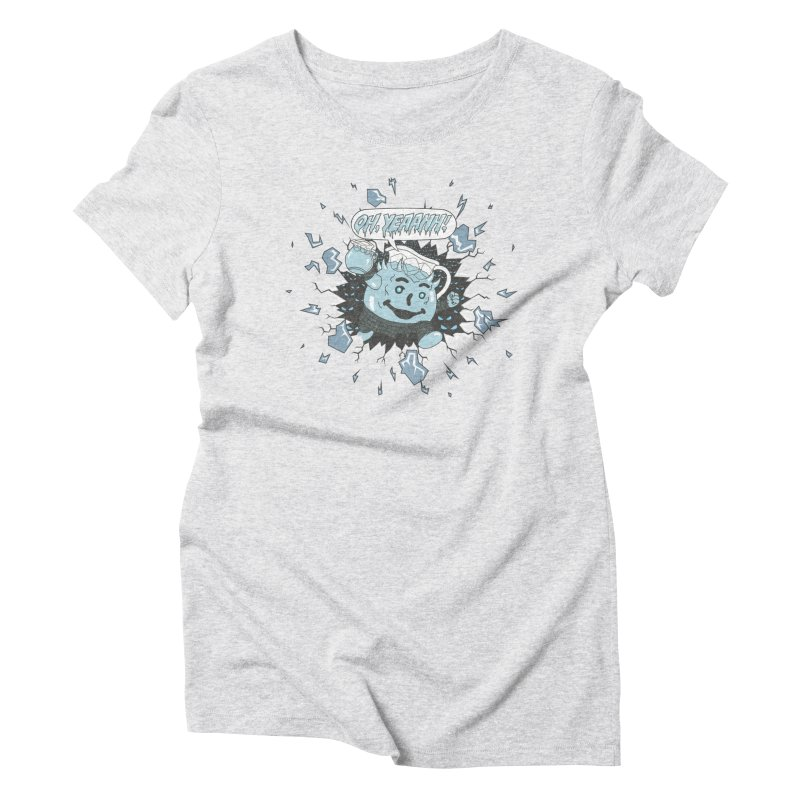 WINTER IS HEEERE! Women's Triblend T-shirt by Made With Awesome