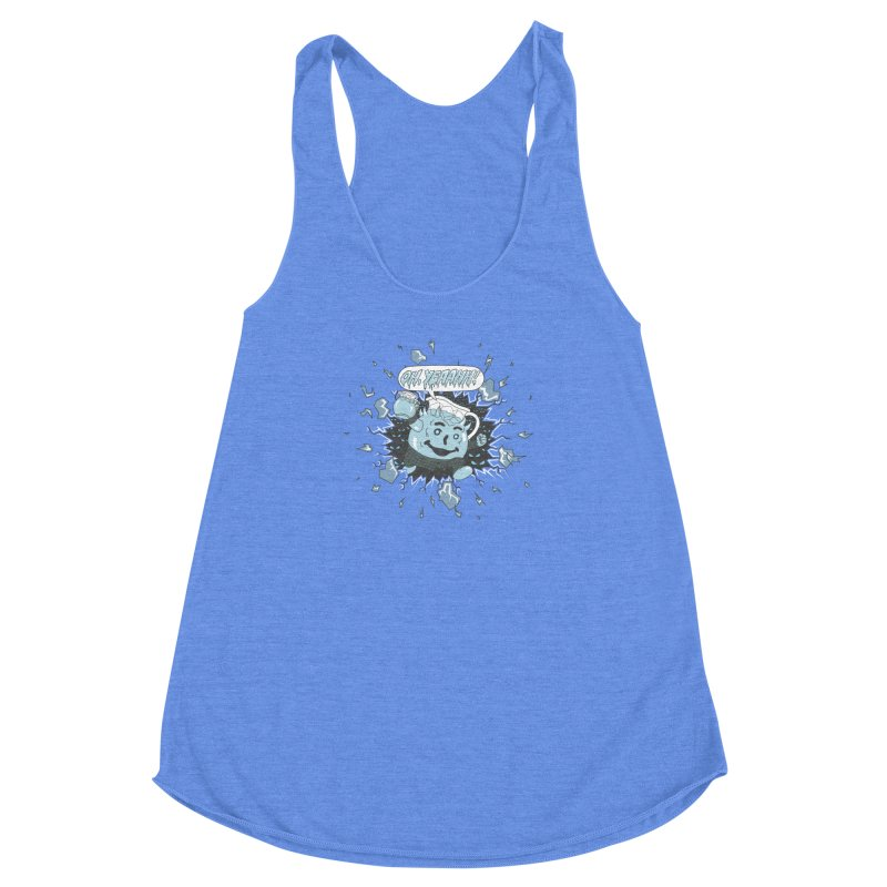WINTER IS HEEERE! Women's Racerback Triblend Tank by Made With Awesome