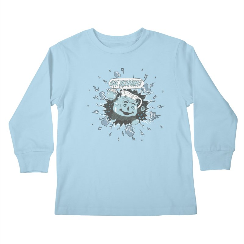 WINTER IS HEEERE! Kids Longsleeve T-Shirt by Made With Awesome