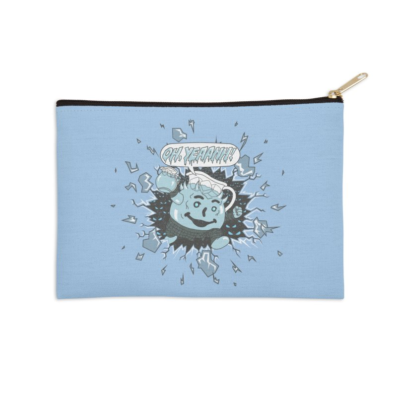 WINTER IS HEEERE! Accessories Zip Pouch by Made With Awesome