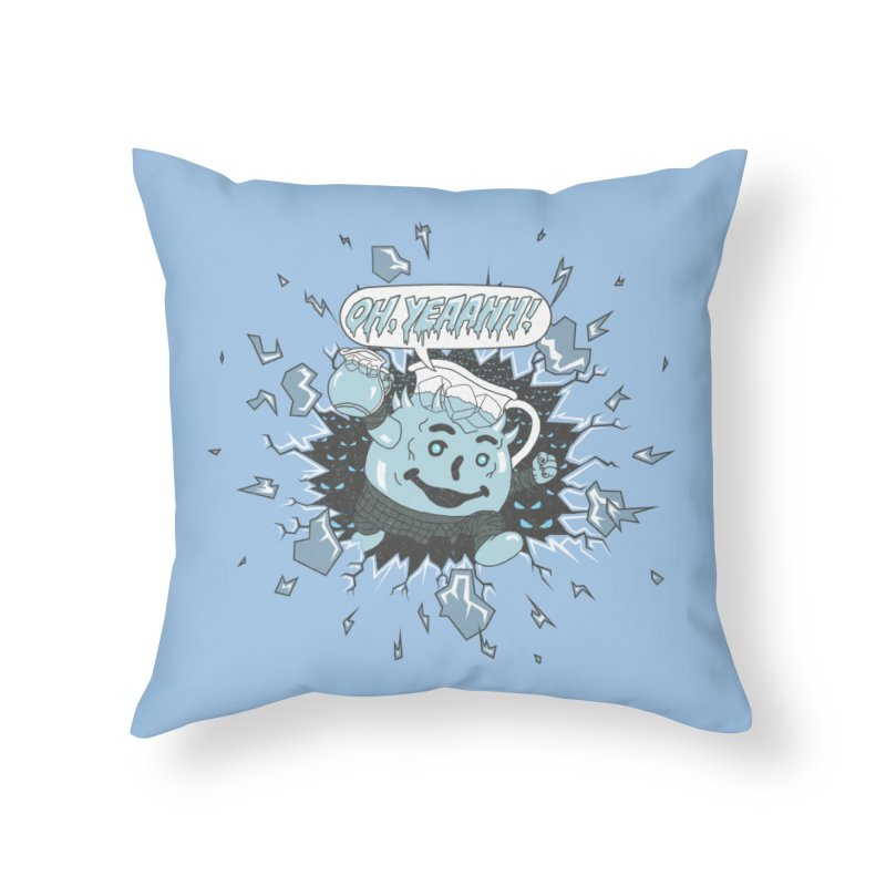 WINTER IS HEEERE! Home Throw Pillow by Made With Awesome