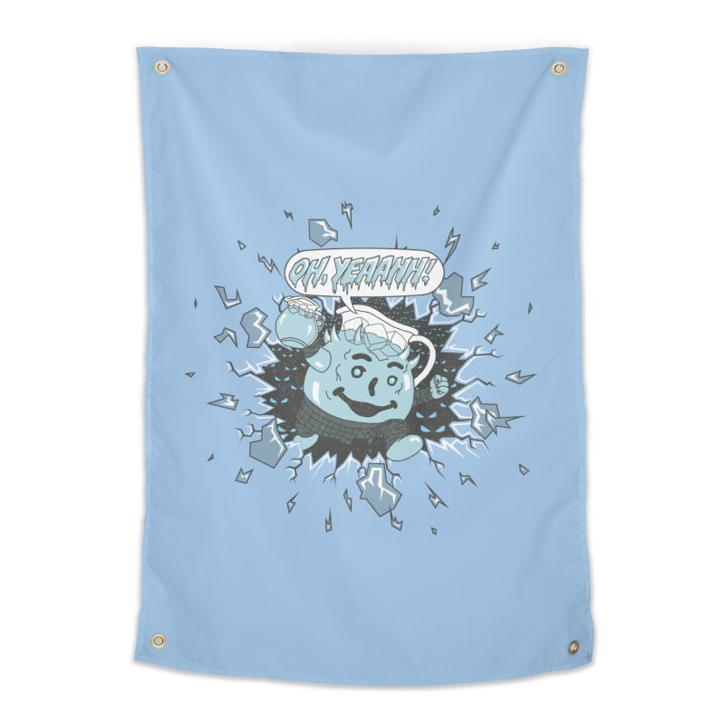 WINTER IS HEEERE! Home Tapestry by Made With Awesome