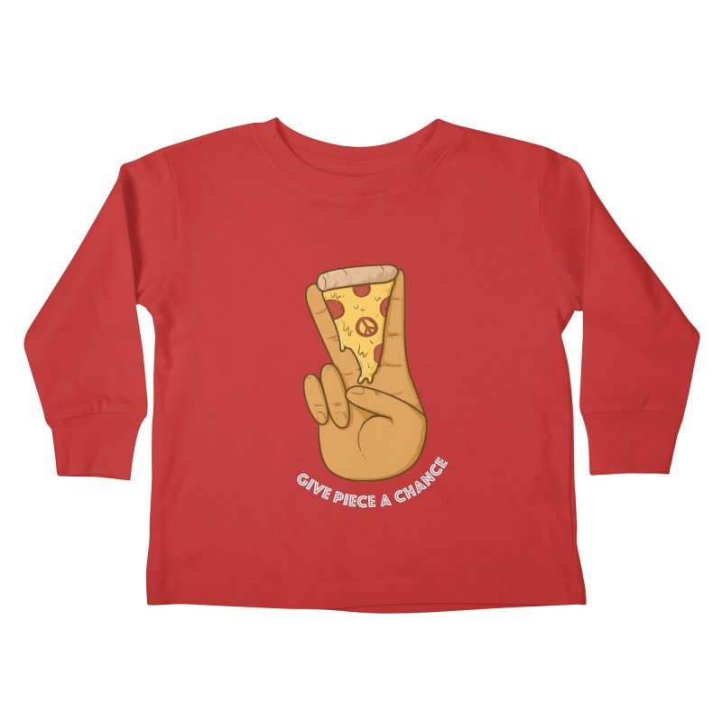 Piece Kids Toddler Longsleeve T-Shirt by Made With Awesome