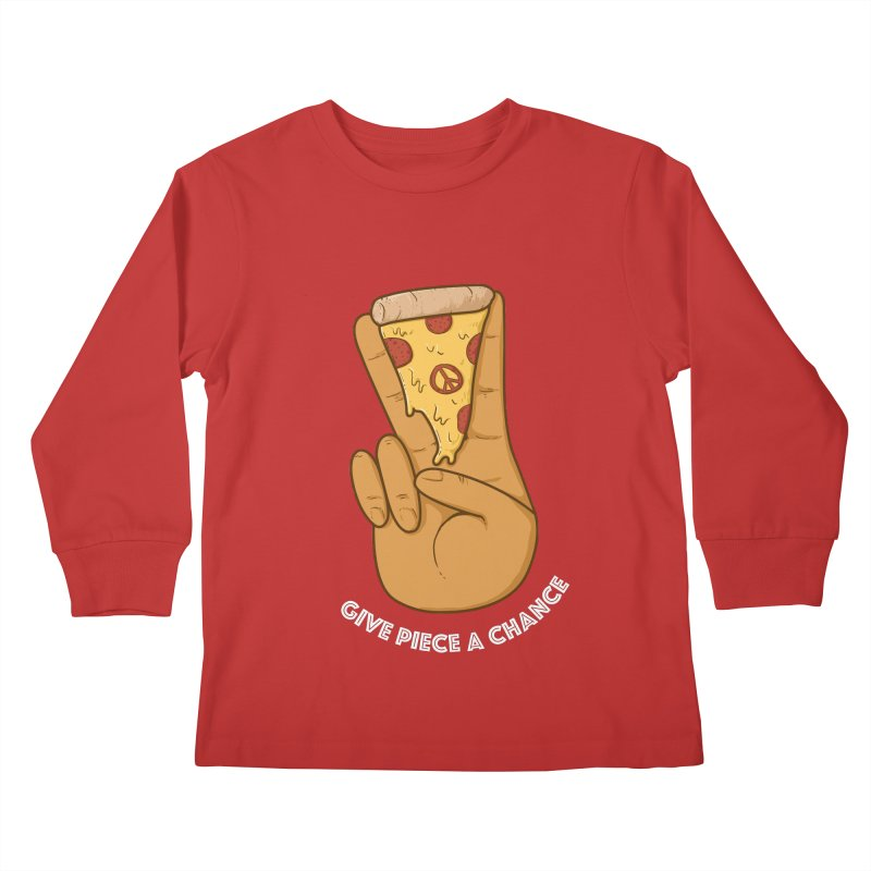 Piece Kids Longsleeve T-Shirt by Made With Awesome