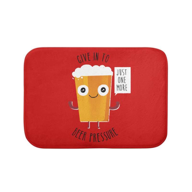 Beer Pressure Home Bath Mat by Made With Awesome