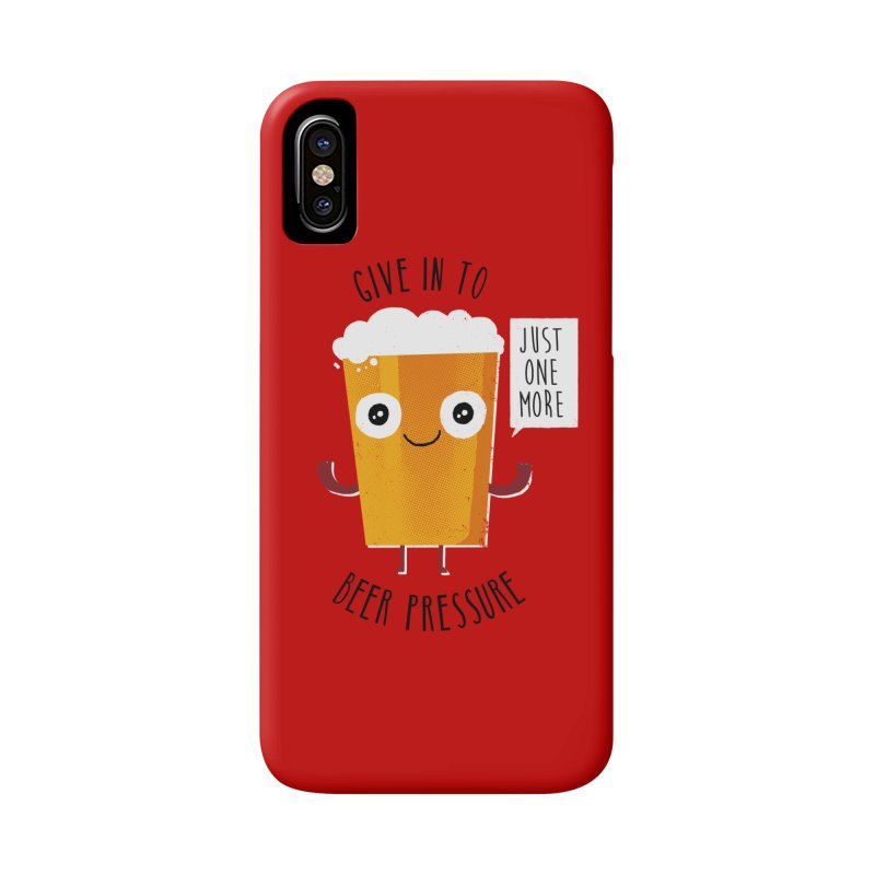 Beer Pressure Accessories Phone Case by Made With Awesome