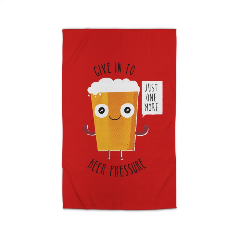 Beer Pressure Home Rug by Made With Awesome