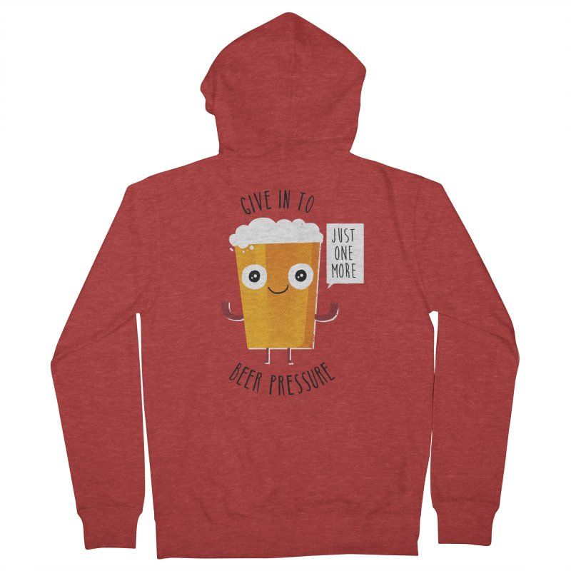 Beer Pressure Women's Zip-Up Hoody by Made With Awesome