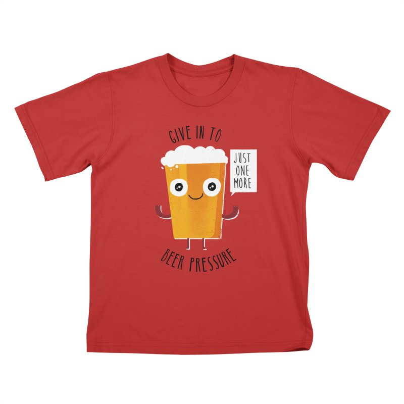 Beer Pressure Kids T-Shirt by Made With Awesome