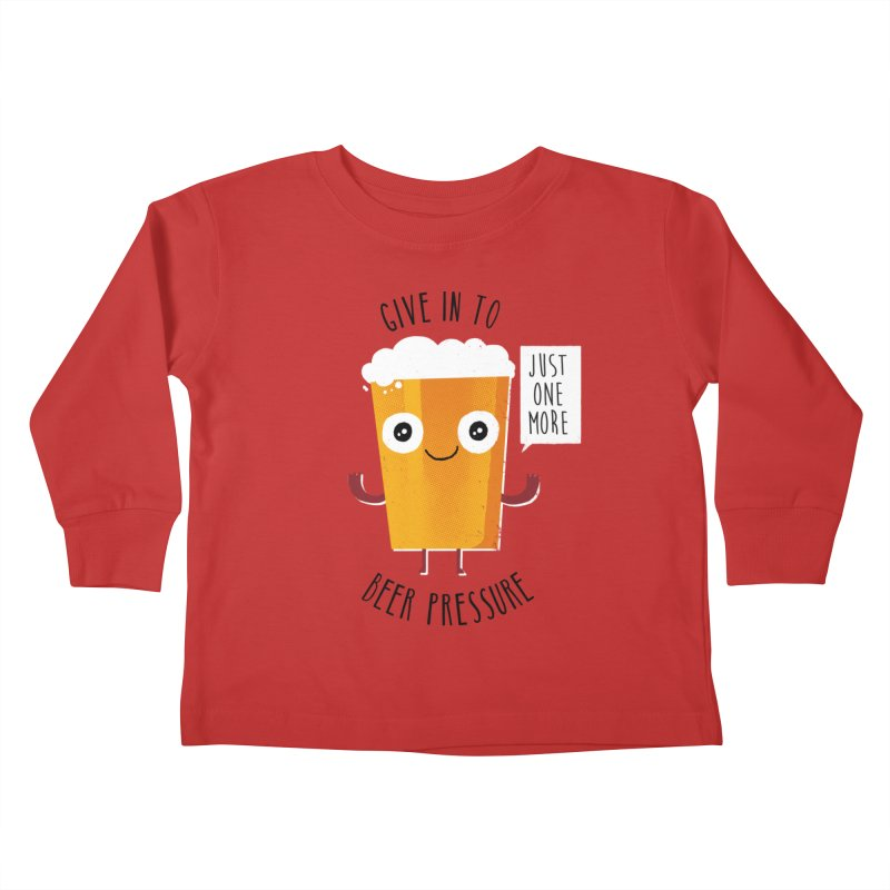 Beer Pressure Kids Toddler Longsleeve T-Shirt by Made With Awesome