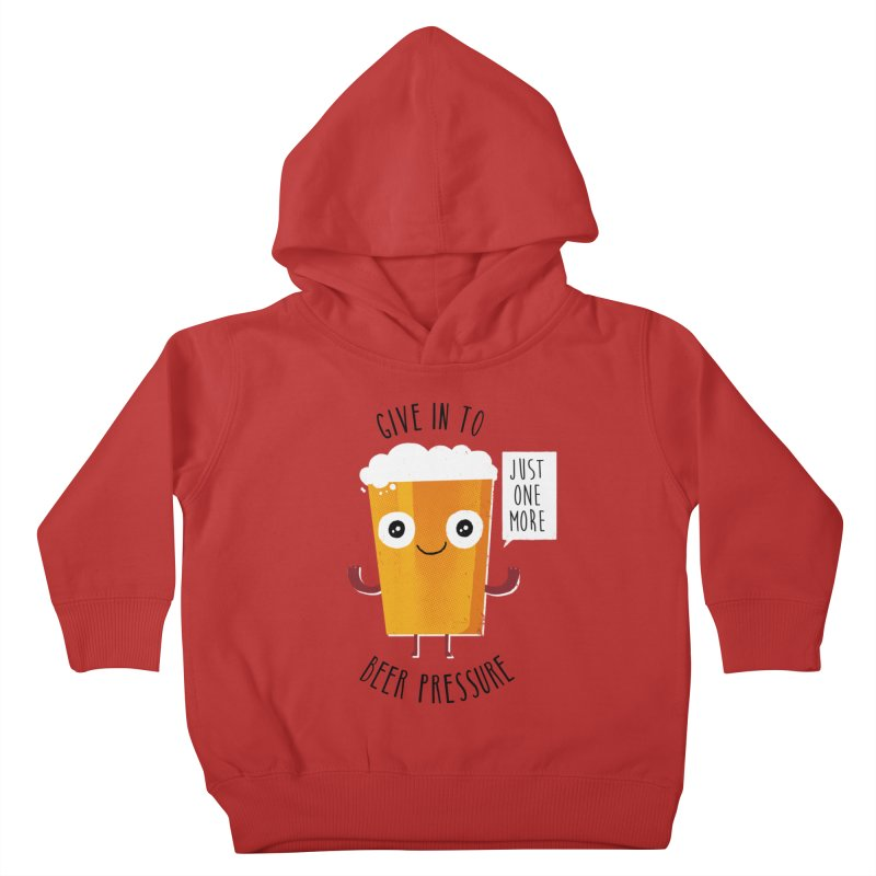 Beer Pressure Kids Toddler Pullover Hoody by Made With Awesome