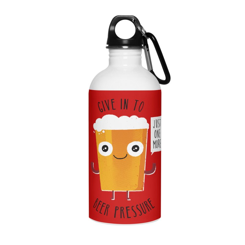 Beer Pressure Accessories Water Bottle by Made With Awesome