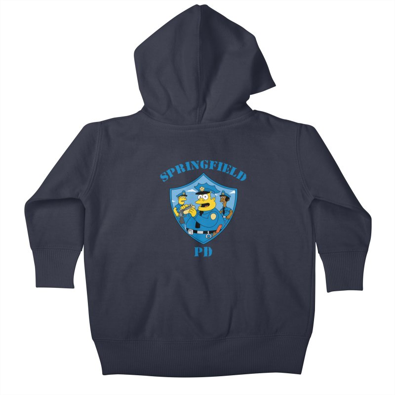 BADCOPS BADCOPS Kids Baby Zip-Up Hoody by Made With Awesome