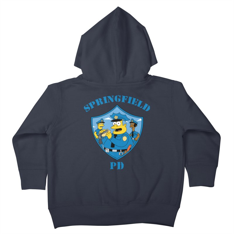 BADCOPS BADCOPS Kids Toddler Zip-Up Hoody by Made With Awesome