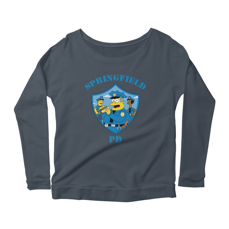 BADCOPS BADCOPS Women's Longsleeve Scoopneck  by Made With Awesome